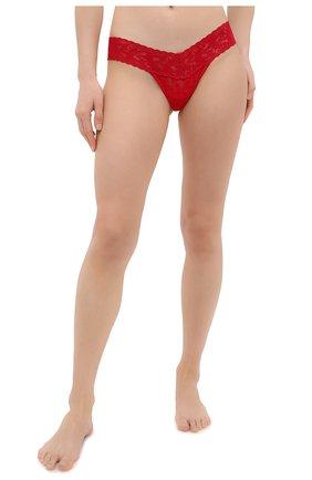 Женские трусы-стринги HANKY PANKY красного цвета, арт. 4911 | Фото 2
