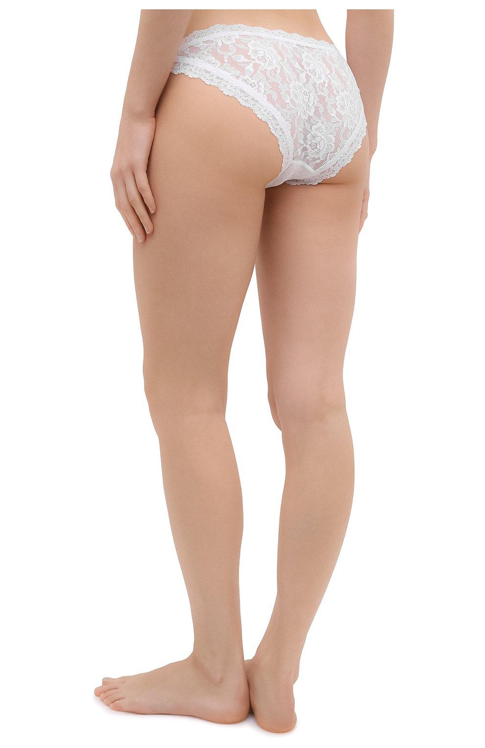 Женские трусы-слипы HANKY PANKY белого цвета, арт. 482102   Фото 3
