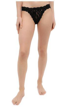 Женские трусы-слипы HANKY PANKY черного цвета, арт. 482102 | Фото 2