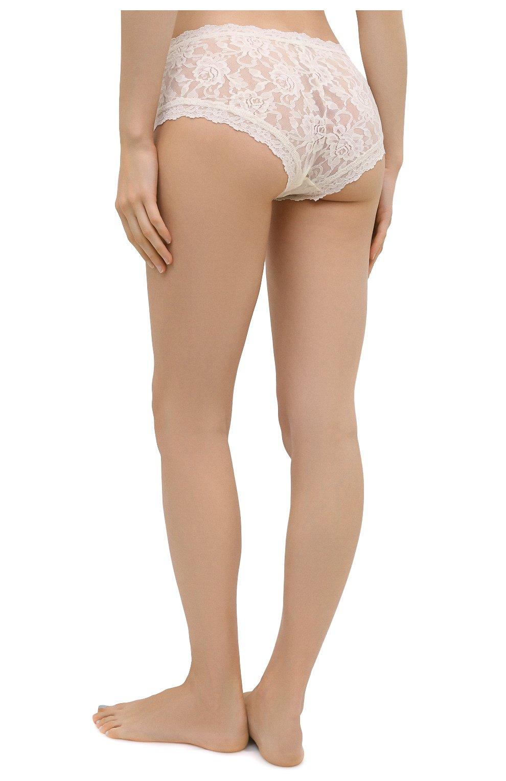 Женские трусы-шорты HANKY PANKY белого цвета, арт. 4812 | Фото 3