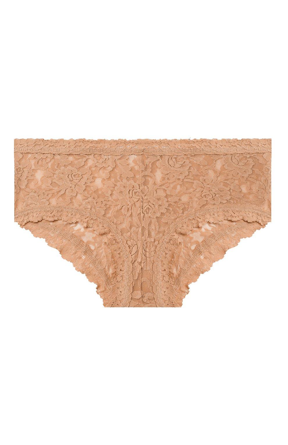 Женские трусы-шорты HANKY PANKY бежевого цвета, арт. 4812   Фото 1