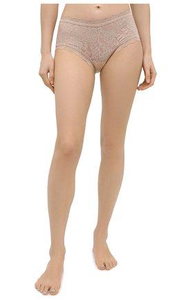 Женские трусы-шорты HANKY PANKY светло-бежевого цвета, арт. 4812 | Фото 2