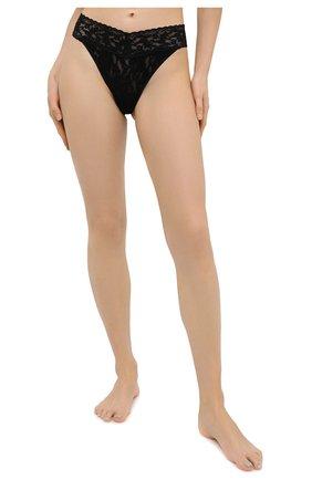Женские трусы-стринги HANKY PANKY черного цвета, арт. 4811 | Фото 2