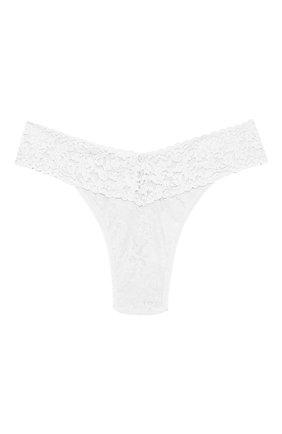 Женские трусы-стринги HANKY PANKY белого цвета, арт. 4811 | Фото 1