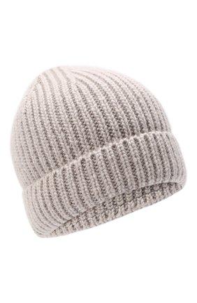Женская шапка silk CANOE бежевого цвета, арт. 4806369 | Фото 1