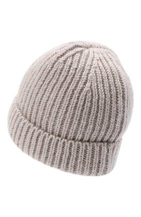 Женская шапка silk CANOE бежевого цвета, арт. 4806369 | Фото 2