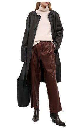 Женская дубленка RALPH LAUREN темно-коричневого цвета, арт. 293835445 | Фото 2