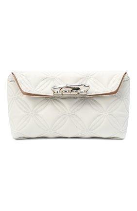 Женский клатч jewelled satchel ALEXANDER MCQUEEN белого цвета, арт. 631865/13Z2Y | Фото 1
