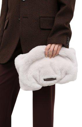 Женская сумка BRUNELLO CUCINELLI белого цвета, арт. MBFKD2198 | Фото 2
