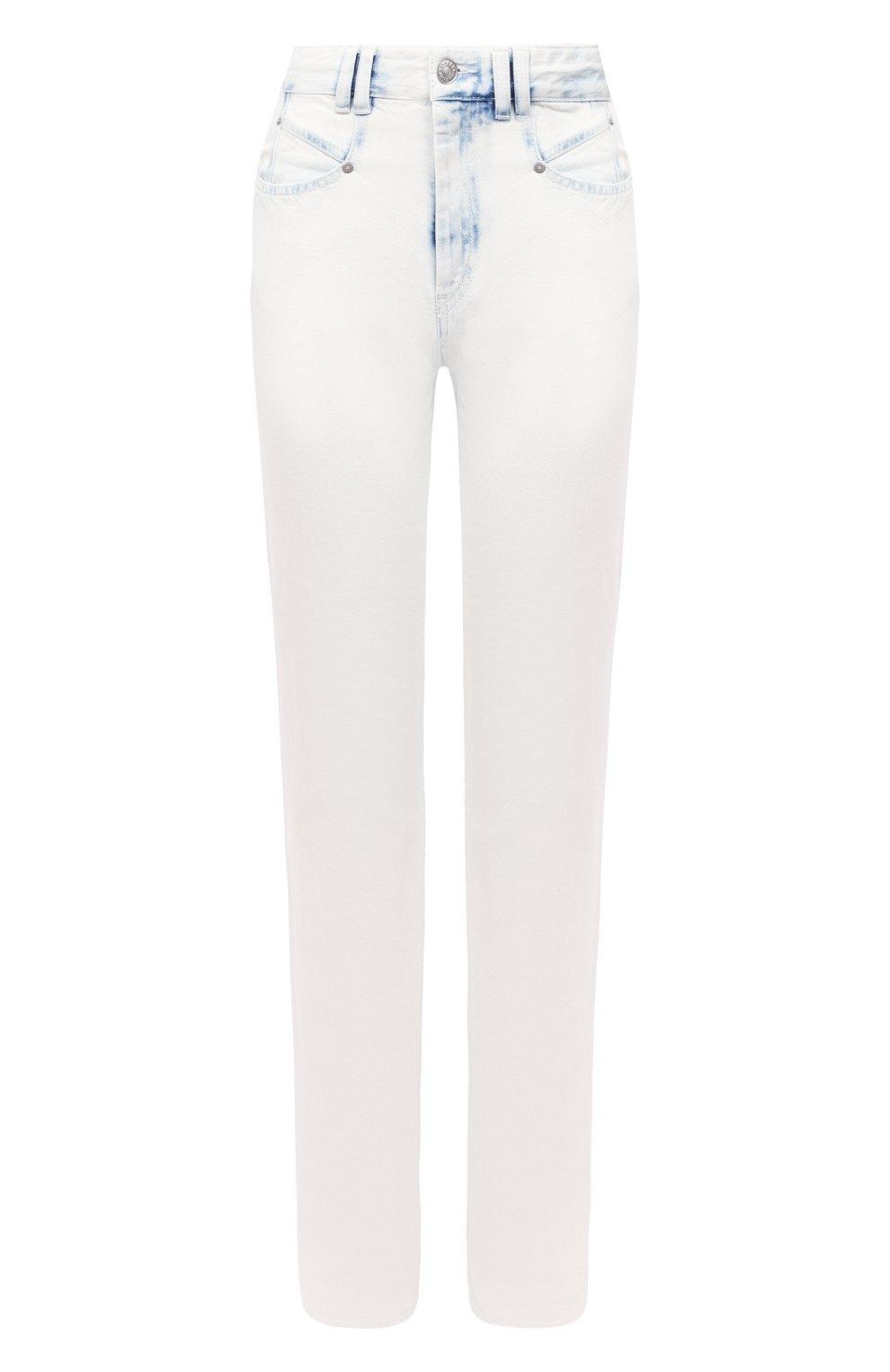 Женские джинсы ISABEL MARANT голубого цвета, арт. PA1750-20A022I/N0MINIC   Фото 1