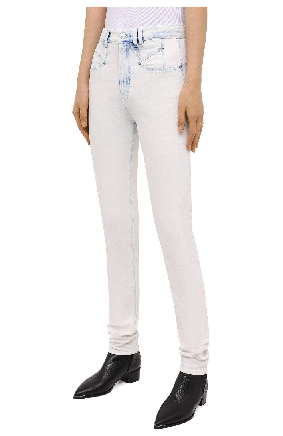 Женские джинсы ISABEL MARANT голубого цвета, арт. PA1750-20A022I/N0MINIC   Фото 3