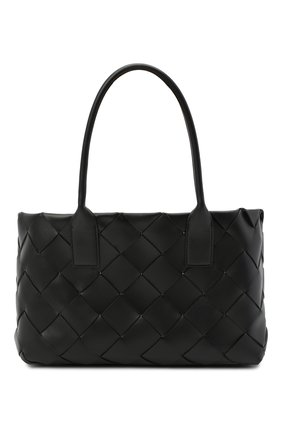 Женская сумка-тоут cabat BOTTEGA VENETA черного цвета, арт. 649598/VMAY3 | Фото 1