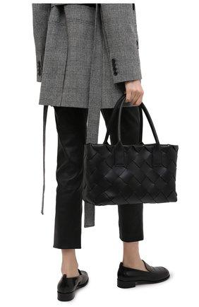 Женская сумка BOTTEGA VENETA черного цвета, арт. 649598/VMAY3 | Фото 2