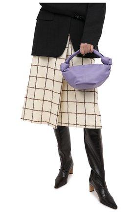 Женская сумка BOTTEGA VENETA сиреневого цвета, арт. 629635/VCP41 | Фото 2