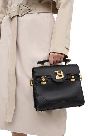 Женская сумка bbuzz 23 BALMAIN черного цвета, арт. VN1S526/LVPT | Фото 2