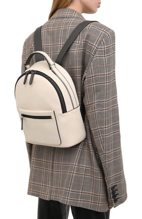 Женский рюкзак BRUNELLO CUCINELLI молочного цвета, арт. MBTMD2078 | Фото 2