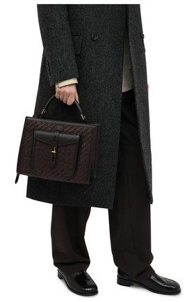 Женская сумка t-twist TOM FORD коричневого цвета, арт. L1203T-ICL023 | Фото 2