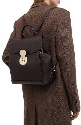 Женский рюкзак ricky RALPH LAUREN коричневого цвета, арт. 435838525 | Фото 2