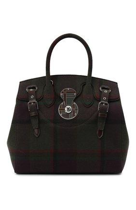 Женская сумка RALPH LAUREN коричневого цвета, арт. 435829155 | Фото 1