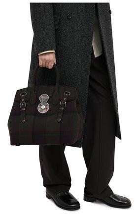 Женская сумка RALPH LAUREN коричневого цвета, арт. 435829155 | Фото 2
