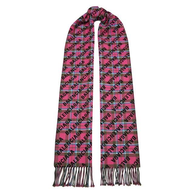 Шерстяной шарф Balenciaga