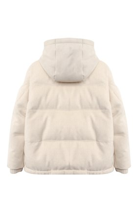 Детский пуховая куртка LORO PIANA светло-бежевого цвета, арт. FAL3721 | Фото 2