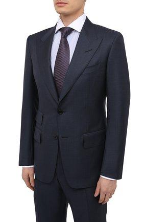Мужской шерстяной костюм TOM FORD темно-серого цвета, арт. 922R10/21AL43 | Фото 2