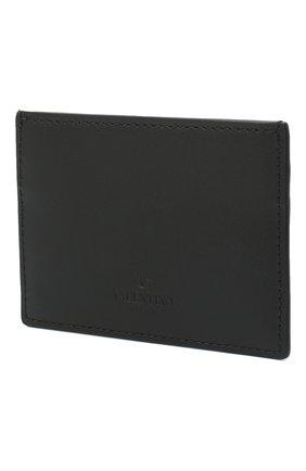 Мужской кожаный футляр для кредитных карт valentino garavani VALENTINO черного цвета, арт. VY2P0448/EER | Фото 2