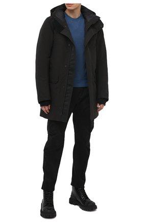 Мужская пуховая парка brockton CANADA GOOSE черного цвета, арт. 3409MB | Фото 2