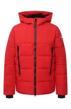 Мужская пуховая куртка hybridge CANADA GOOSE красного цвета, арт. 2742M   Фото 1