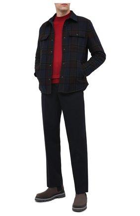 Мужская двусторонняя куртка RALPH LAUREN темно-синего цвета, арт. 790813467 | Фото 2
