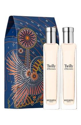 Набор twilly hermès HERMÈS бесцветного цвета, арт. 103229V0H | Фото 1
