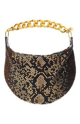 Женская сумка medusa chain VERSACE коричневого цвета, арт. DBSH985/D2TPRS | Фото 2