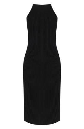 Женское платье из вискозы VERSACE черного цвета, арт. A88428/A237516 | Фото 2