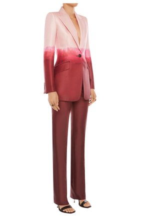 Женский жакет ALEXANDER MCQUEEN розового цвета, арт. 650922/QCAB1 | Фото 2