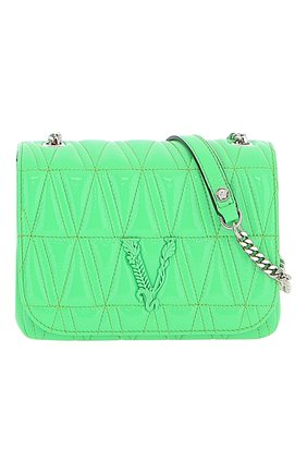 Женская сумка virtus VERSACE зеленого цвета, арт. DBFH821/DNAPLT | Фото 1