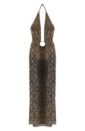Женское платье VERSACE черного цвета, арт. A88611/1F00296 | Фото 1