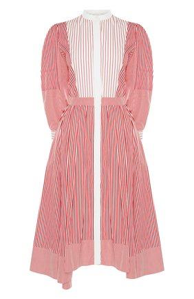 Женское платье ALEXANDER MCQUEEN розового цвета, арт. 646599/QZAAJ | Фото 1