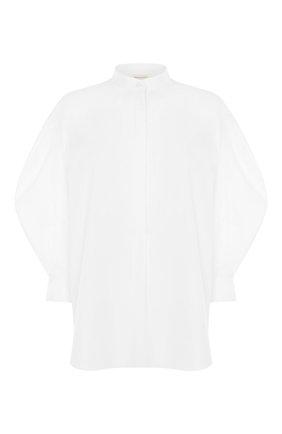 Женская рубашка ALEXANDER MCQUEEN белого цвета, арт. 649831/QAAAD | Фото 1