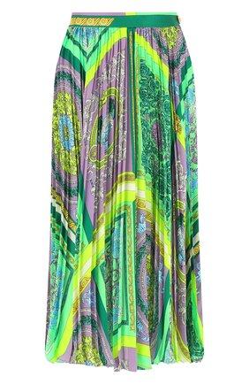Женская плиссированная юбка VERSACE разноцветного цвета, арт. A88558/1F00387 | Фото 1