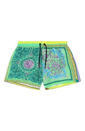 Женские шорты VERSACE разноцветного цвета, арт. ABD40006/1F00382 | Фото 1