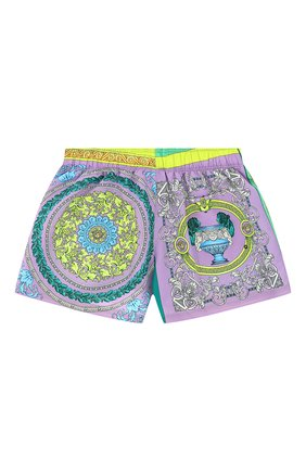 Женские шорты VERSACE разноцветного цвета, арт. ABD40006/1F00382 | Фото 2