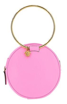 Женская сумка medusa mini VERSACE розового цвета, арт. DBSH983/D3VITN | Фото 1