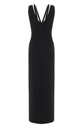 Женское шелковое платье VERSACE черного цвета, арт. A88473/A217281 | Фото 2
