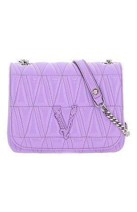 Женская сумка virtus VERSACE сиреневого цвета, арт. DBFH821/DNAPLT | Фото 1