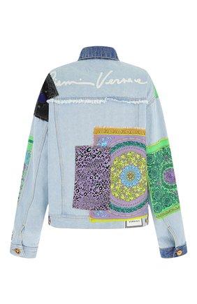 Женская джинсовая куртка VERSACE разноцветного цвета, арт. A88516/1F00408 | Фото 2