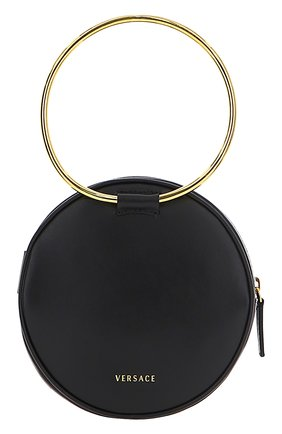 Женская сумка medusa mini VERSACE черного цвета, арт. DBSH983/D3VITN | Фото 1