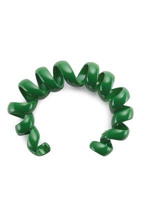 Женский браслет BOTTEGA VENETA зеленого цвета, арт. 649311/V5081 | Фото 2