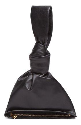 Женская сумка bv twist mini BOTTEGA VENETA черного цвета, арт. 652001/VCP40 | Фото 1