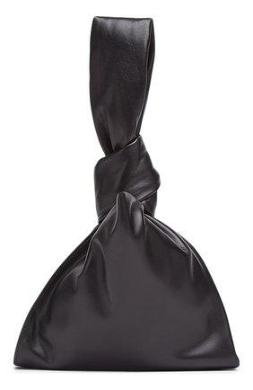Женская сумка bv twist mini BOTTEGA VENETA черного цвета, арт. 652001/VCP40 | Фото 2